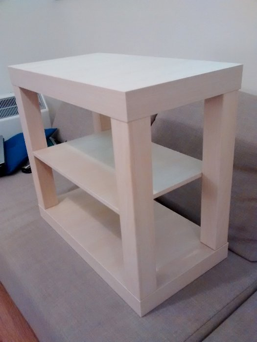 Complementary Small LACK Entertainment Centre from LACK Coffee Table