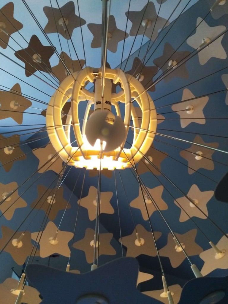 IKEA MASKROS star lamp hack