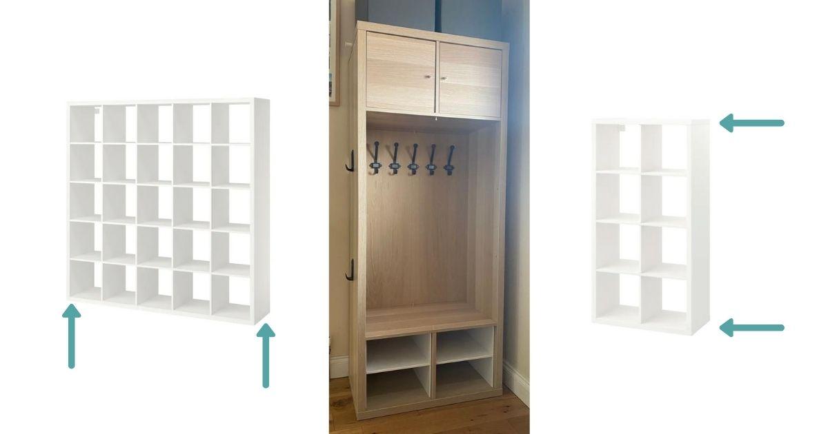 KALLAX hallway unit