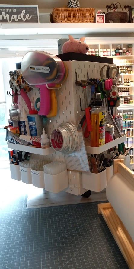 Top 10 IKEA hacks of 2020 - craft organizer
