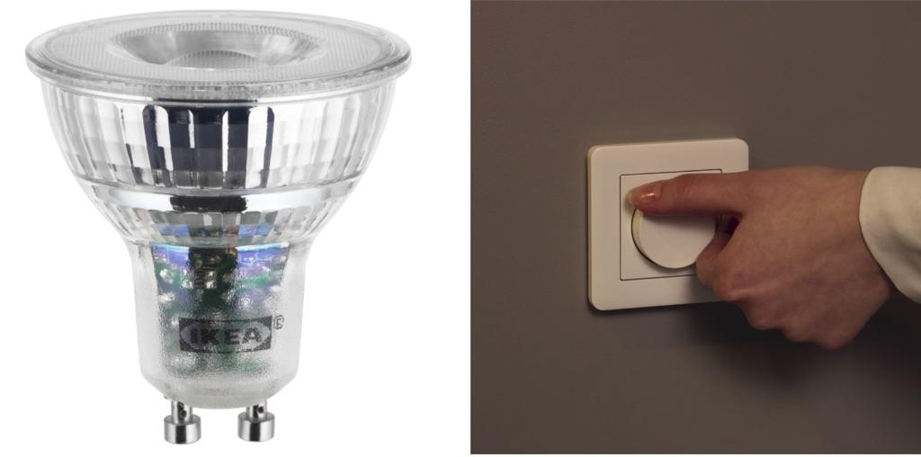 alternative dimmer switch for IKEA LED bulb