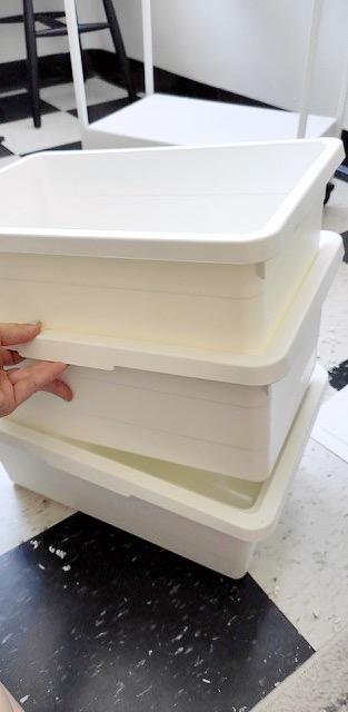 DIY worm farm stackable IKEA hack