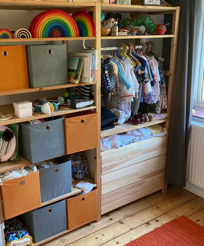 ikea ivar kids wardrobe