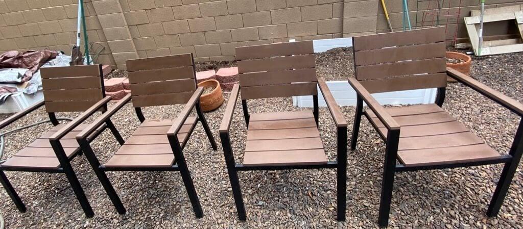 IKEA FALSTER outdoor dining set